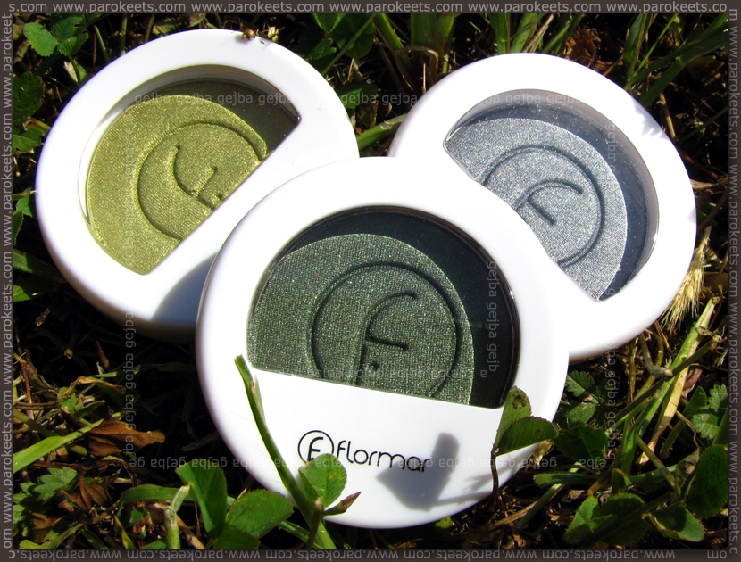 Flormar: Mono Eye Shadow 007, 013, 002