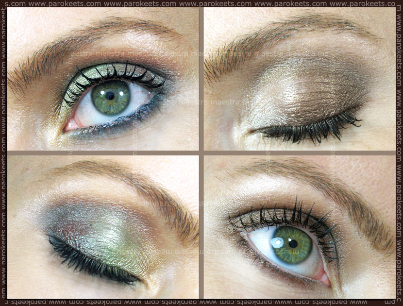 Make-up with Mineralissima mineral eyeshadows by Maestra