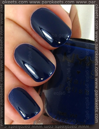 NYX Girls - Ink Heart swatch by Parokeets