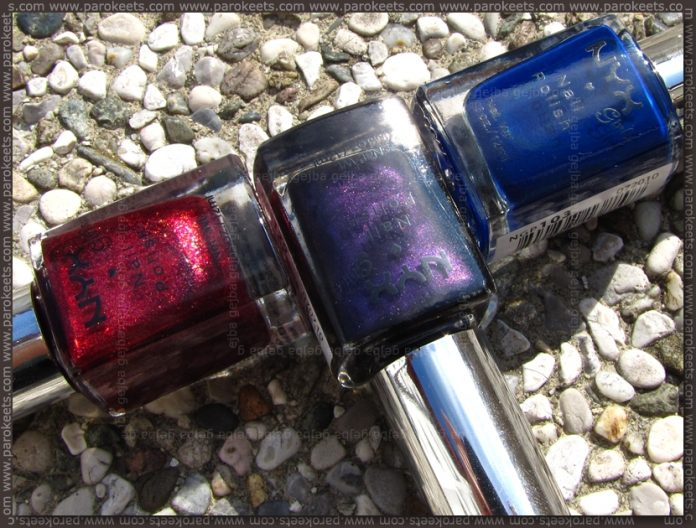 NYX Girls: Woman, Ink Heart, Purple Noir