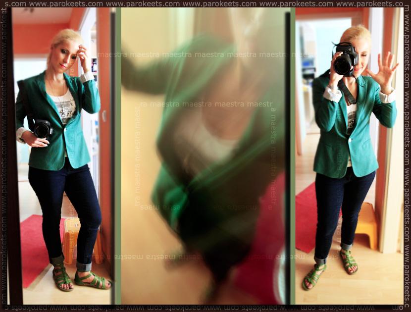OOTD 2011 08 29: Zara Blazer