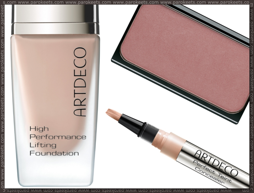 Preview: Artdeco Wild At Heart LE blush, foundation, concealer