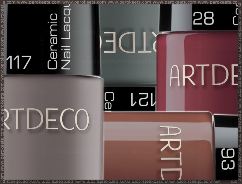 Preview: Artdeco Wild At Heart LE nail polishes