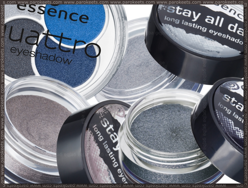 Preview: Essence I Love TE eyeshadows