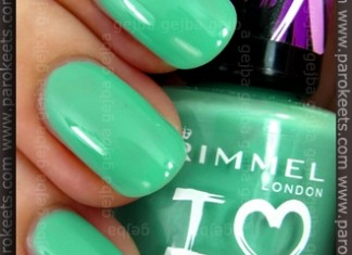 Rimmel I Love - Misty Jade