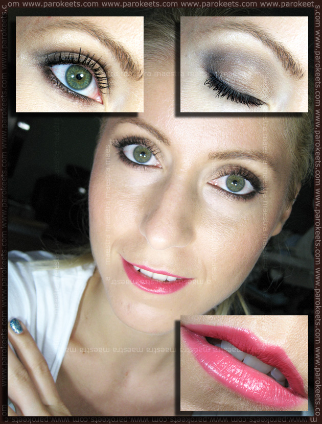 Make up: Sleek - Oh So Special, Beauty UK - Passion