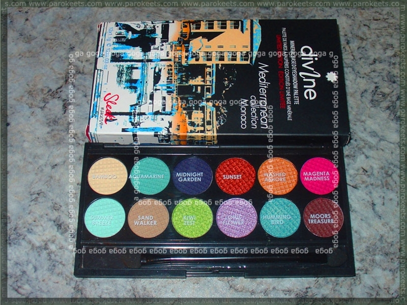 Sleek Divine Monaco palette