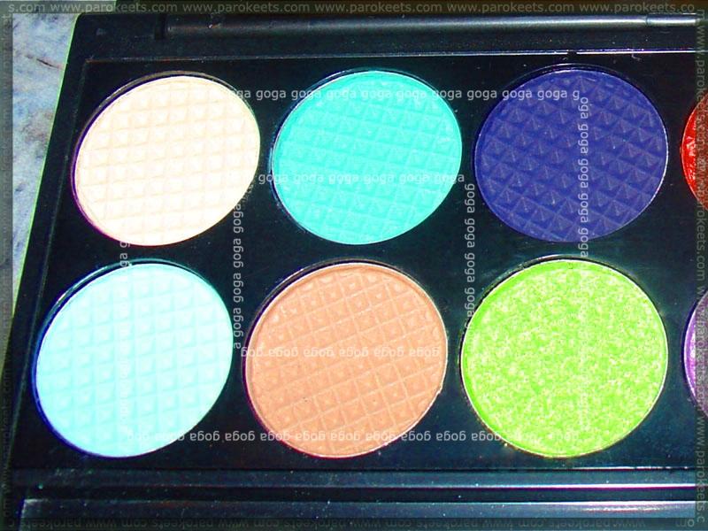 Seek Divine Monaco palette eyeshadows