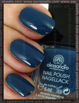 Alessandro Born To Be Wild LE - Sweet Poison swatch