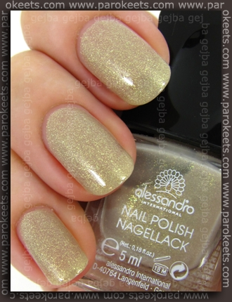 Alessandro Born To Be Wild LE - Wild Angel swatch by Parokeets