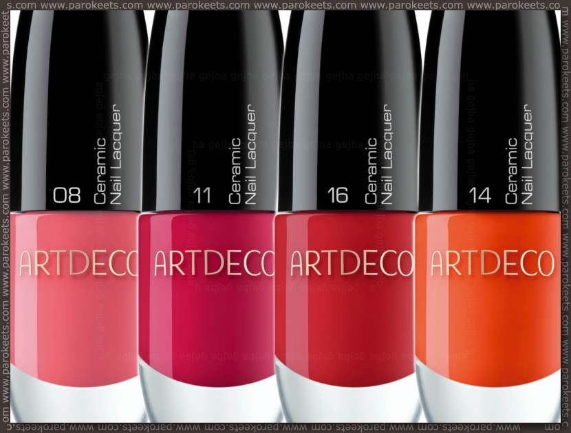 Preview: Artdeco Dress Up Your Nails: 08, 11, 14, 16
