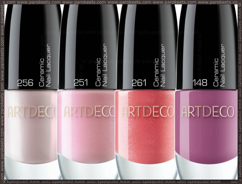 Preview: Artdeco Dress Up Your Nails: 148, 251, 256, 261