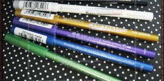 Essence - Metallic Eye Pencil: Green Day, Heavy Metal, Lilectric, Iron Goddess, White Divine, Black Knight
