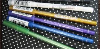 Essence - Metallic Eye Pencil: Green Day, Heavy Metal, Lilectric, Iron Goddess, White Divine, Black Knight