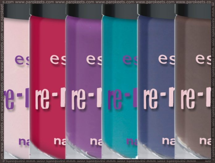Essence Re-mix your style TE: base polishes preview