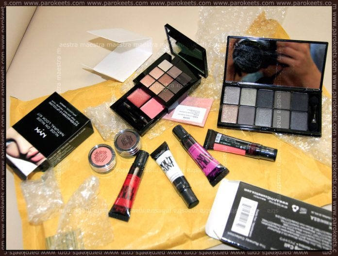 New acquisitions: NYX, Sleek - Pout Paint, Mineralissima