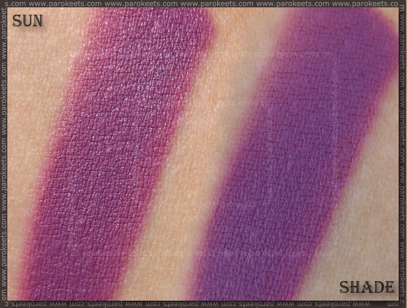 Illamasqua Theatre of the Nameless - Depravity (cream pigment) swatch