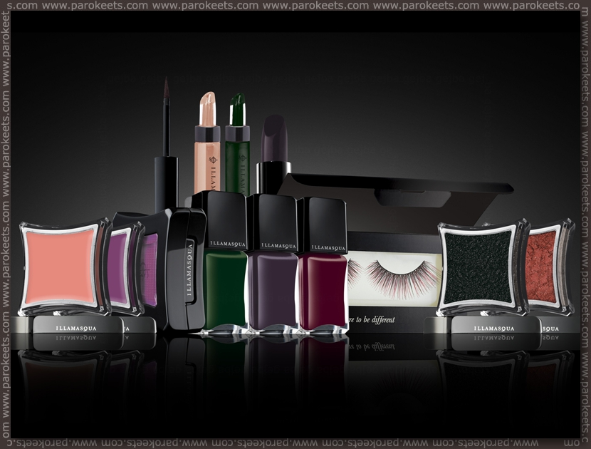 Illamasqua Theatre Of The Nameless preview