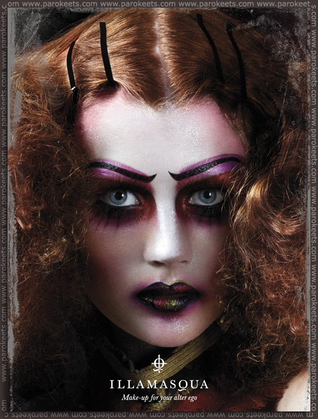 Illamasqua Theatre Of The Nameless promo
