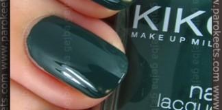 Kiko Verde Scuro (347) nail polish