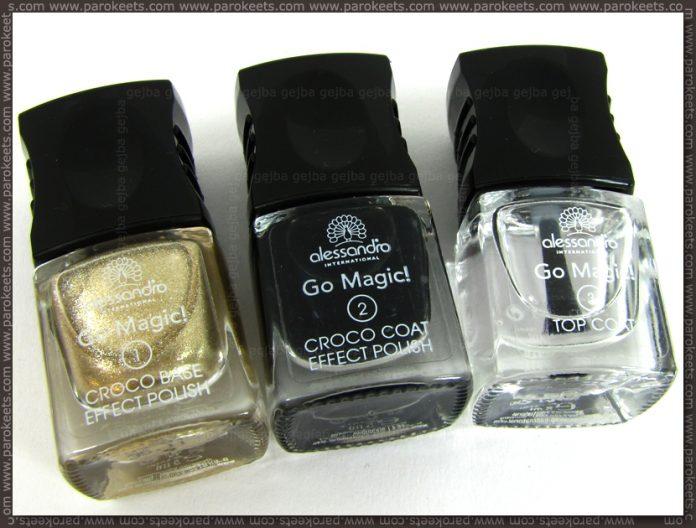 Alessandro Croco Glam LE gold-black