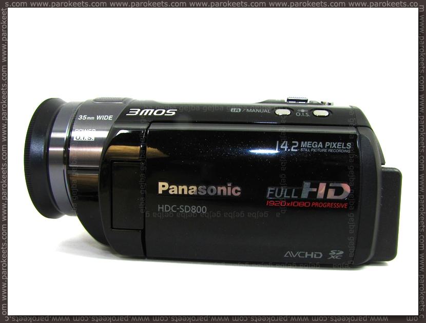 Birthday present Panasonic camcorder