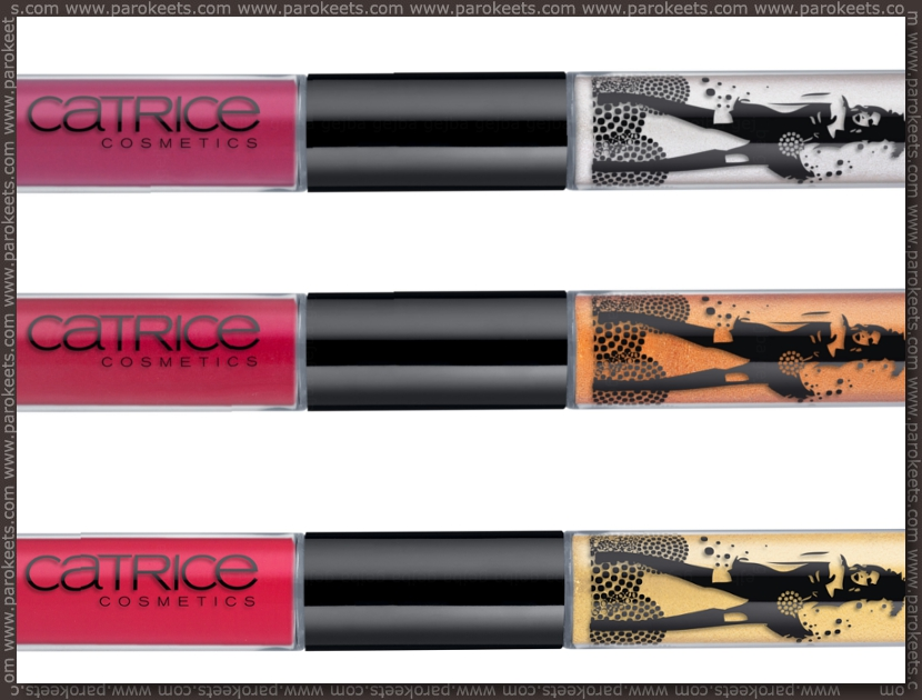 Preview Catrice Welcome to Las Vegas LE: duo lipgloss by Parokeets