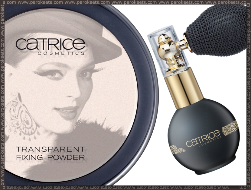 Preview Catrice Welcome to Las Vegas LE: fixing, shimmer powder
