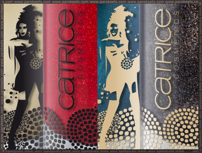 Preview Catrice Welcome to Las Vegas LE: nail polishes by Parokeets