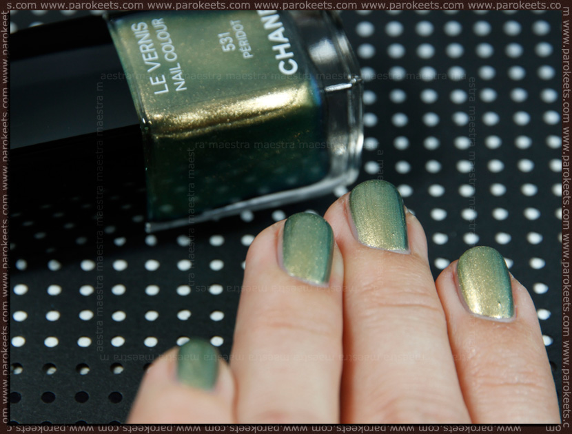 Swatch: Chanel - Peridot (2 coats)