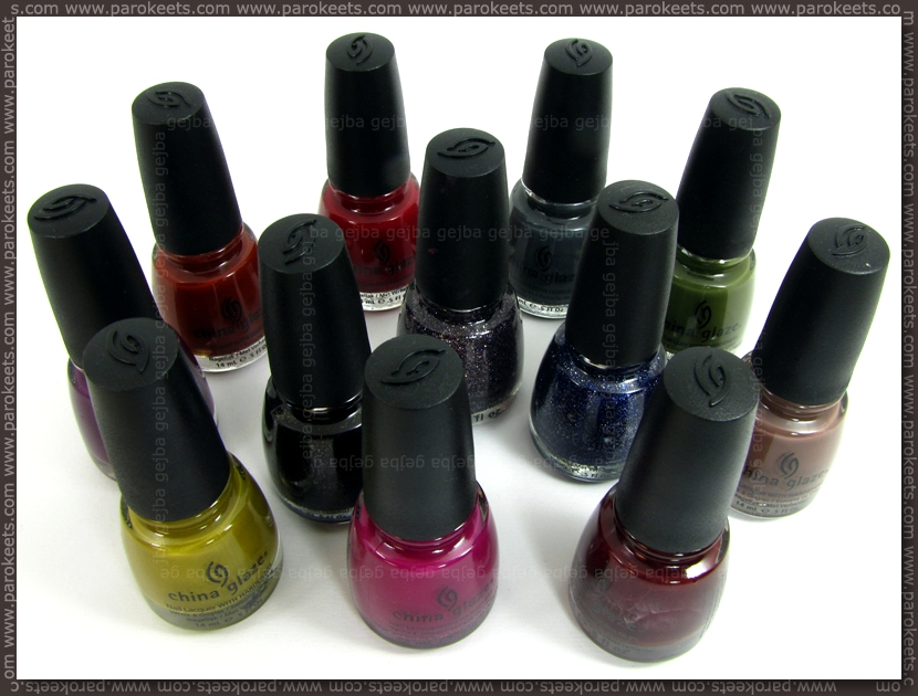 China Glaze Metro collection