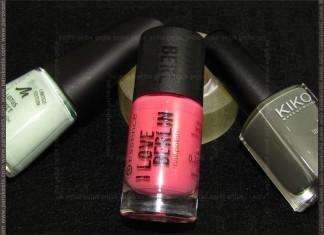 Essence Love This City, Mahattan Fresh-Excited, Kiko 348 - pink challenge