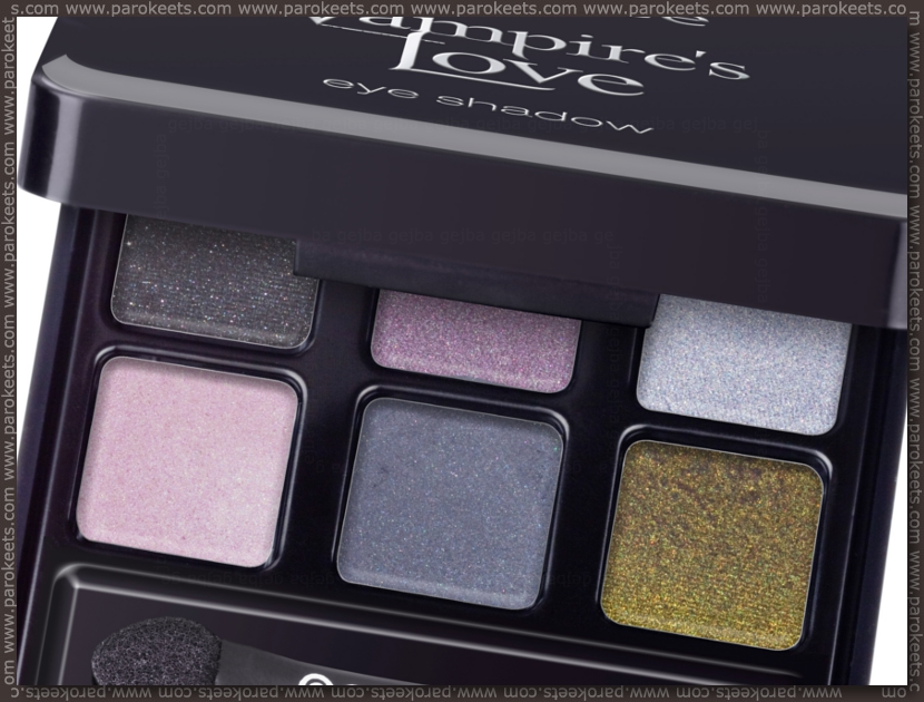 Preview: Essence Vampire's Love TE eyeshadow palette by Parokeets