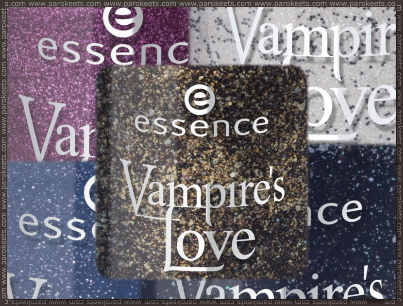 Preview: Essence Vampire's Love TE nail polishes by Parokeets