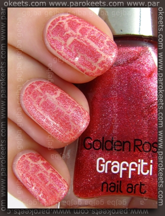 Essence You're My Dragonfly Sugar + Golden Rose Graffiti no. 10 swatch