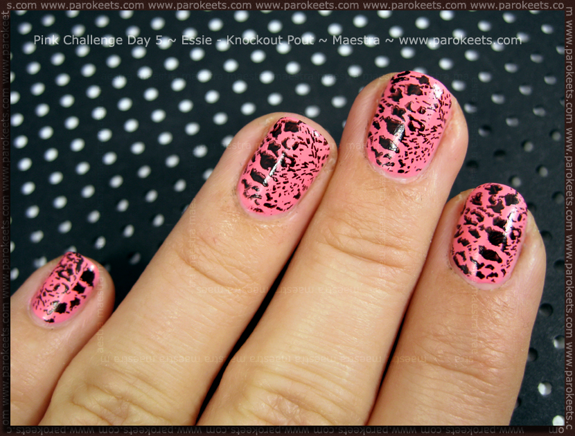 Pink Challenge: Day 5 Essie - Knockout Pout by Maestra
