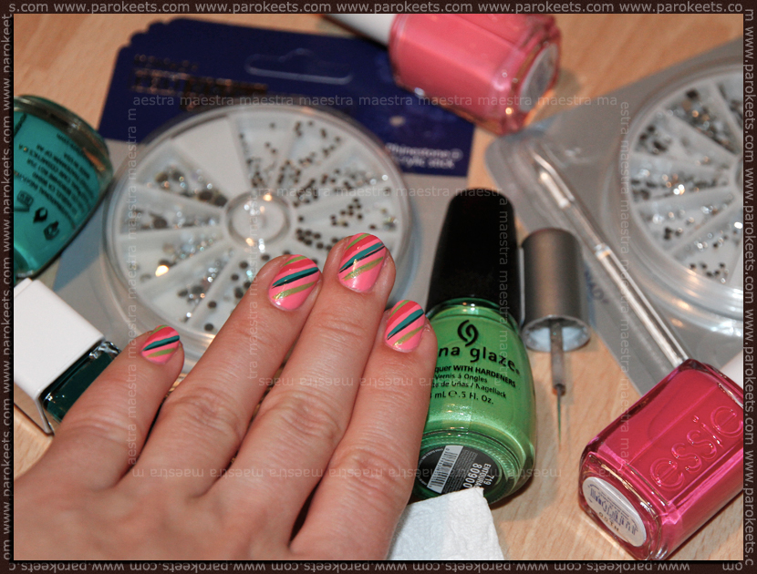 Pink Challenge: Day 6 Essie - Knockout Pout by Maestra