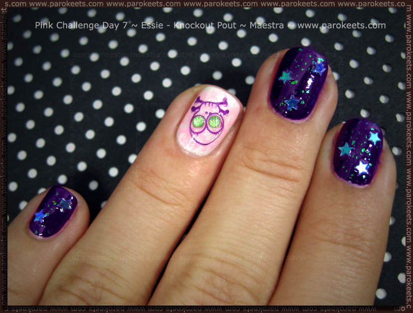 Pink Challenge: Day 7 Essie - Knockout Pout by Maestra
