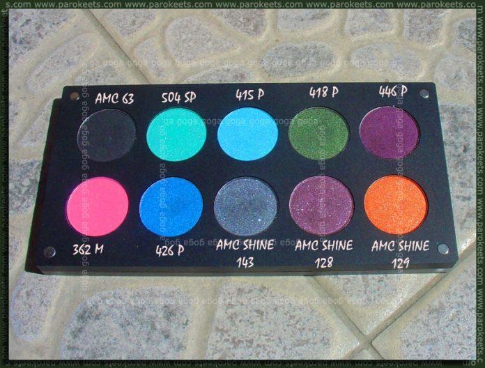 Inglot palette - sun