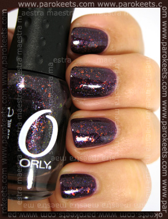 Swatch: Orly - Fowl Play (Birds Of Feather) - 2 coats