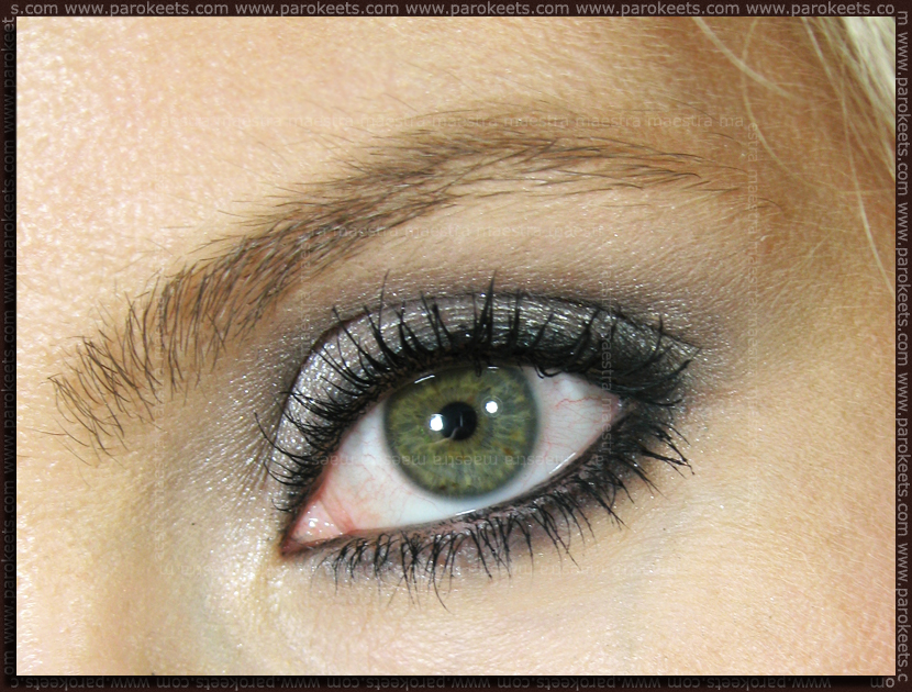 Dramatic lashes look by Maestra