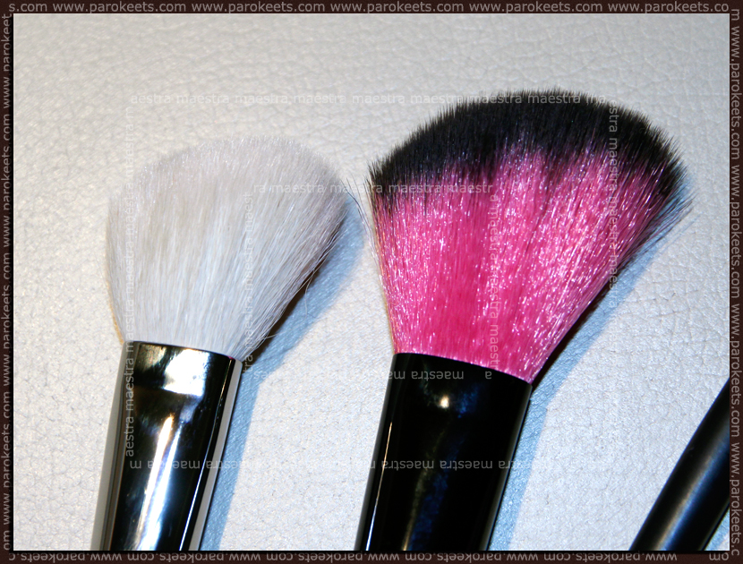Essence blush brush vs. MAC 168