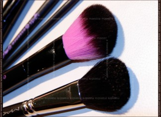 Essence powder brush vs. MAC 116