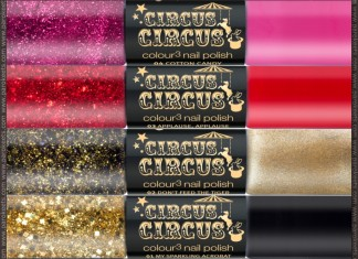 Essence Circus Circus TE nail polishes