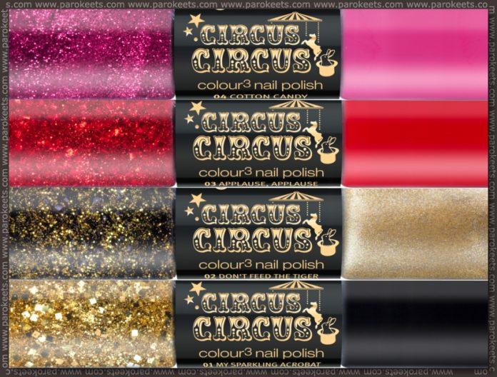 Essence Circus Circus TE nail polishes