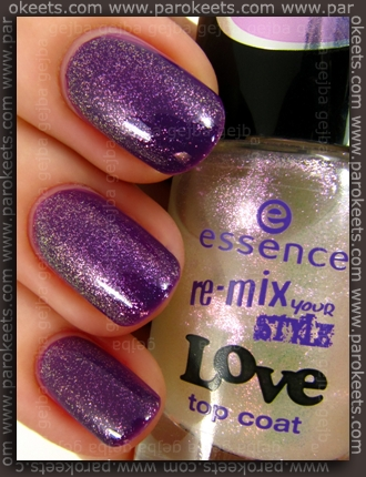 Essence Re-Mix Your Style: Maybe I'm Amazed + Feels So Good swatch