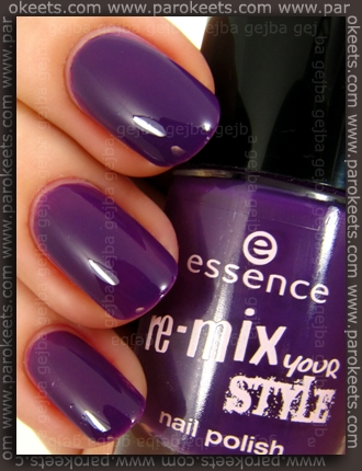 Essence Re-Mix Your Style: Maybe I'm Amazed swatch