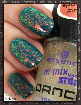Essence Re-Mix Your Style: Show Me The Way + Waking Up In Vegas swatch