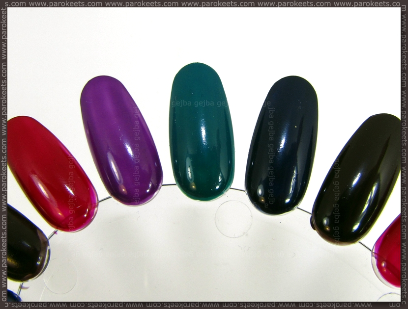 Essence Re-Mix Your Style: base polishes swatch