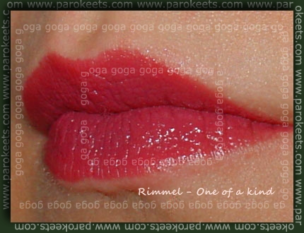 Rimmel 080 One of a kind lipstick